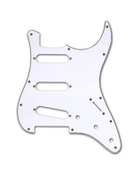 Parts Pickguard White for stratocaster