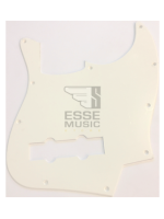 Parts Pickguard White jazz bass