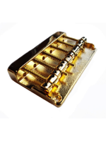 Parts 6 Strings Bass Bridge Gold