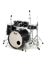 Pearl DMP905/C227 Decade Maple, Satin Slate Black