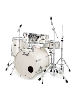 Pearl DMP905/C229 Decade Maple, White Satin Pearl