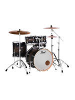 Pearl DMP905/C262 Decade Maple, Satin Black Burst