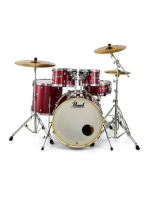 Pearl Export EXX705NBR/C704 With Hardware And Sabian SBR Cymbal Set (Last Displayed)