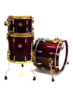 Pearl Limited Edition Mahogany Jazz Red Burl Mahogany