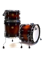 Pearl Limited Edition Mahogany Jazz Set Vintage Burl Mahogany Burst ( Expo )