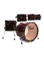 Pearl Master Custom MMX - Set di Batteria 5 Pezzi in Red Wine