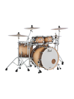 Pearl MCT924XEP/C351 - Batteria Masters Complete - Masters Complete Drumset in Satin Natural Burst
