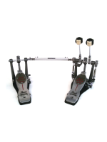 Pearl P-2052C - Eliminator Red Line Twin Pedal