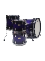 Pearl Reference - 4 Pcs Drumset in Purple Craze II