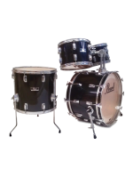 Pearl Rock Beat - 4 Pcs Drumset in Jet Black