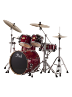 Pearl SSC904XUP/C - Session Studio Classic Drumset in Sequoia Red