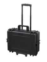 Plastica Panaro MAX505STR.079 - Black, with trolley, with cubed foam