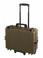 Plastica Panaro max505str.488 - Sahara, with trolley, with cubed foam