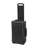 Plastica Panaro MAX520STR.079 - Black, with trolley, with cubed foam