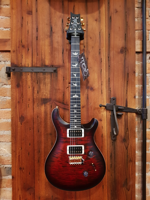 Prs Custom 24 10 top  Wood Library Fire Red Burst