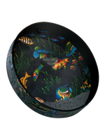 Remo ET-0212-10 Ocean Drum Fish Graphic