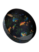 Remo ET-0222-10 Ocean Drum Fish Graphic