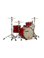 Sonor 320 Shell Set - SQ1 3-Pcs Drumset in Hot Rod Red