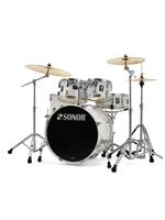 Sonor AQ1 Stage Set WHP - 5-Pcs Drumset In Piano White