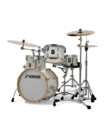 Sonor AQ2 Bop Set WHP - 4-Pcs Drumset in White Pearl