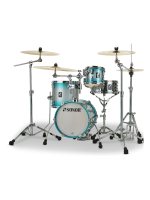 Sonor AQ2 Martini Set ASB - 4-Pcs Drumset In Aqua Silver Burst