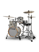 Sonor AQ2 Martini Set WHP - 4-Pcs Drumset In White Pearl