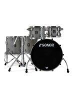 Sonor ProLite PL SSE Stage S - Limited Edition (50 Kit) Drumset in Solid Grey