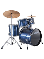 Sonor SMF 11 Smart Force Combo - Set Di Batteria 5 Pezzi In Brushed Blue