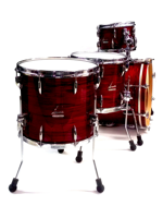 Sonor Vintage Series Five 20 Shell Set WM in Red Oyster Ex-Demo (Emmanuelle Caplette)