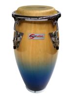 Soundsation Mini Conga Natural Blue Fade