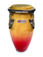 Soundsation Mini Conga Natural Red Fade