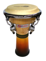 Soundsation Mini Djembe Natural Brown Fade