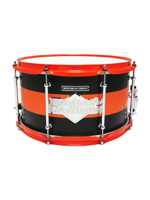 Spaun Drum Co. Maple 8x14 Snare Drum - Harley Davidson Badge
