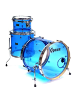 Spaun Drum Co. Set di Batteria in Acrilico - Vista Blue