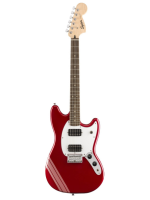 Squier Bullet Competition Mustang Candy Apple Red