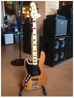 Squier Vintage Modified Jazz Bass '70s Left-Handed Mn Natural
