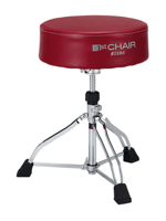 Tama HT830R - Round Rider XL Red Trio Drum Throne