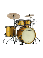 Tama MA42TZUS SAM - Starclassic Maple Standard Drumset in Satin Aztec Gold Metallic