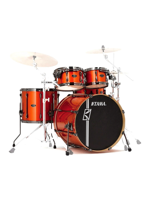 Tama ML52HXZBNS-BOM - Superstar Custom Hyper Drive in Bright Orange Metallic - Expo