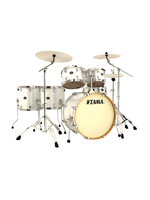 Tama VD62RS-VBG - Batteria Silverstar 6 Pezzi in Silver White Sparkle