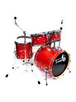Tamburo FORMULA18CG - 5-piece Pack Formula Drumset in Cherry Gloss