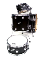 Tamburo STS2284SB - Set Di Batteria Studio 4 Pezzi In Satin Black