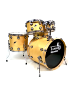 Tamburo STS2284SN - 5-Pcs Studio Drum Set In Satin Natural