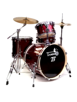 Tamburo T5B20RSSK - T5 4-Piece Set in Red Sparkle - Expo