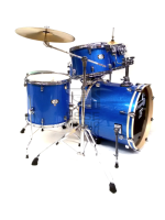 Tamburo T5S16BLSK - Batteria T5 In Blue Sparkle