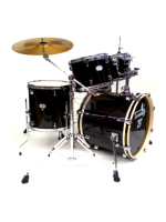 Tamburo T5S16BSSK - Batteria T5 In Black Sparkle