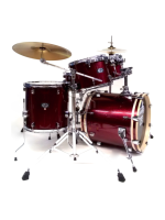 Tamburo T5S16RSSK - Batteria T5 In Red Sparkle