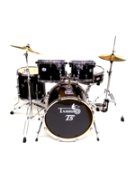 Tamburo T5S22BSSK - T5 Drumset in Black Sparkle