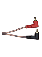 Thender Cable 2 RCA - 2 RCA 90° MT. 1