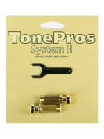 Tonepros Locking Studs SGS1-GLD